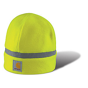 photo: Carhartt A216 High Visibility Fleece Knit Beanie winter hat