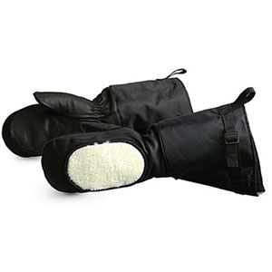 photo: Superior Glove Calfskin Leather Extreme Cold Weather Gloves Mitt insulated glove/mitten