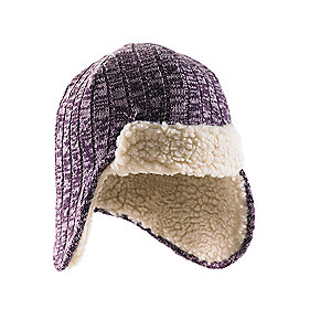 Carhartt Marled-Yarn Ear-Flap Hat/Sherpa Lined