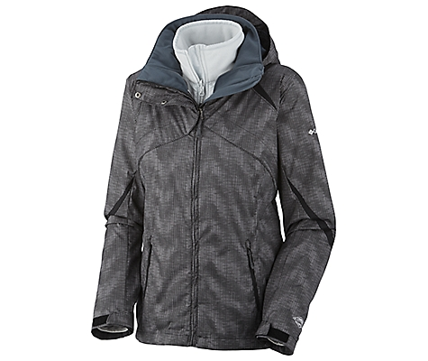 photo: Columbia Women's Bugaboo Interchange Parka component (3-in-1) jacket
