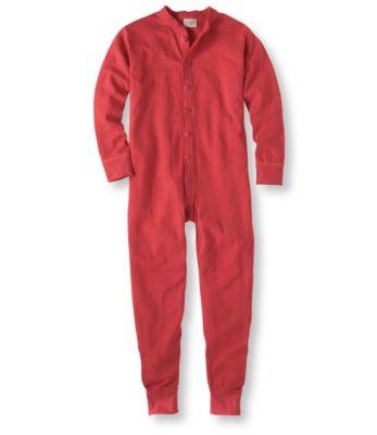 photo: L.L.Bean Two-Layer Union Suit one-piece base layer