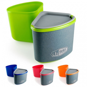 photo: GSI Outdoors Gourmet Nesting Mug and Bowl cup/mug