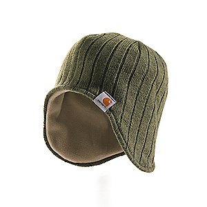 Carhartt Marled-Yarn Ear-Flap Hat/Fleece Lined