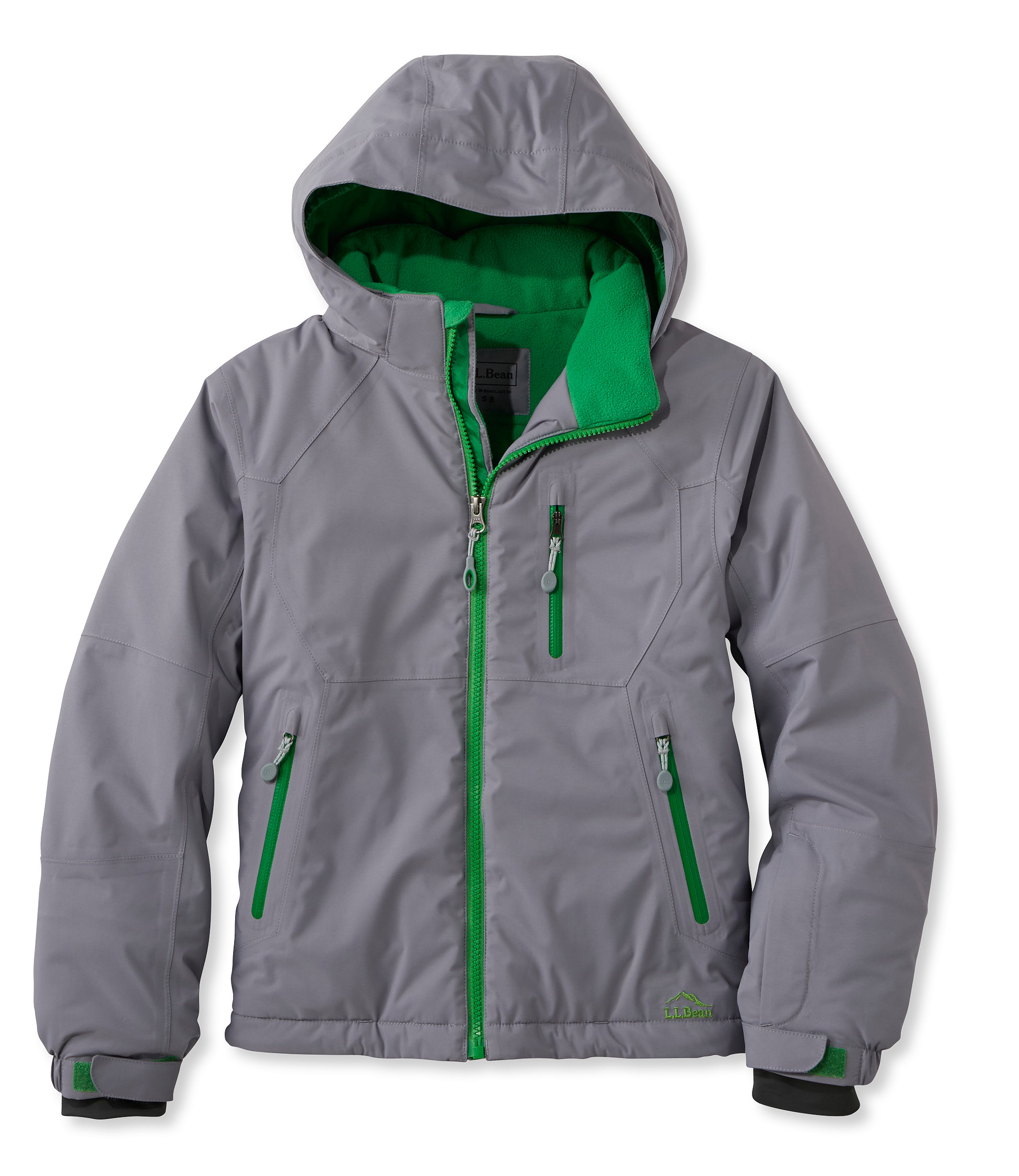 photo: L.L.Bean Glacier Summit Waterproof Jacket synthetic insulated jacket