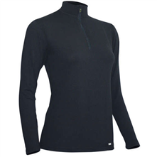 photo: Polarmax Kids' 4-Way Stretch Zip Mock T base layer top