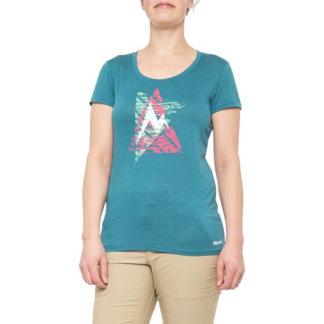 photo: Marmot Women's Post Time Tee SS short sleeve performance top