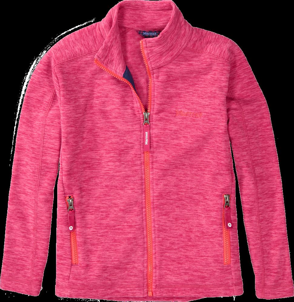 photo: Marmot Girls' Lassen Fleece Jacket fleece jacket