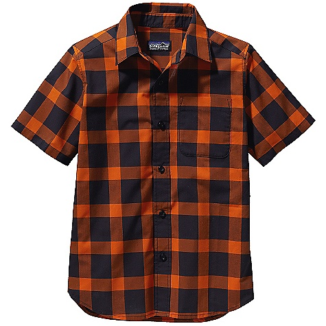 photo: Patagonia Boys' Go To Shirt hiking shirt