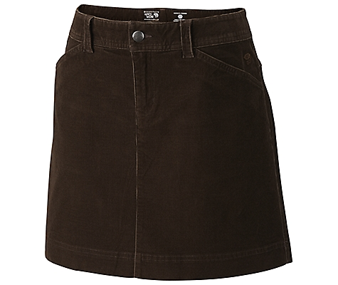 photo: Mountain Hardwear Tunara Cord Skirt hiking skirt