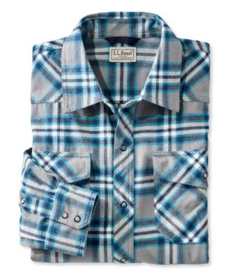 L.L.Bean Overland Performance Flannel Shirt