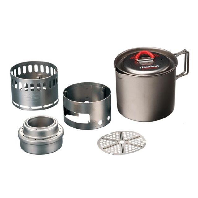 photo: Evernew Appalachian Set alcohol stove