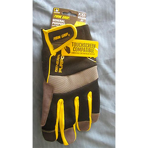 photo:   Firm Grip General Purpose Gloves glove/mitten