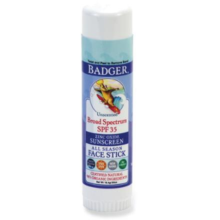 Badger Sport Broad Spectrum SPF 35 Face Stick Sunscreen