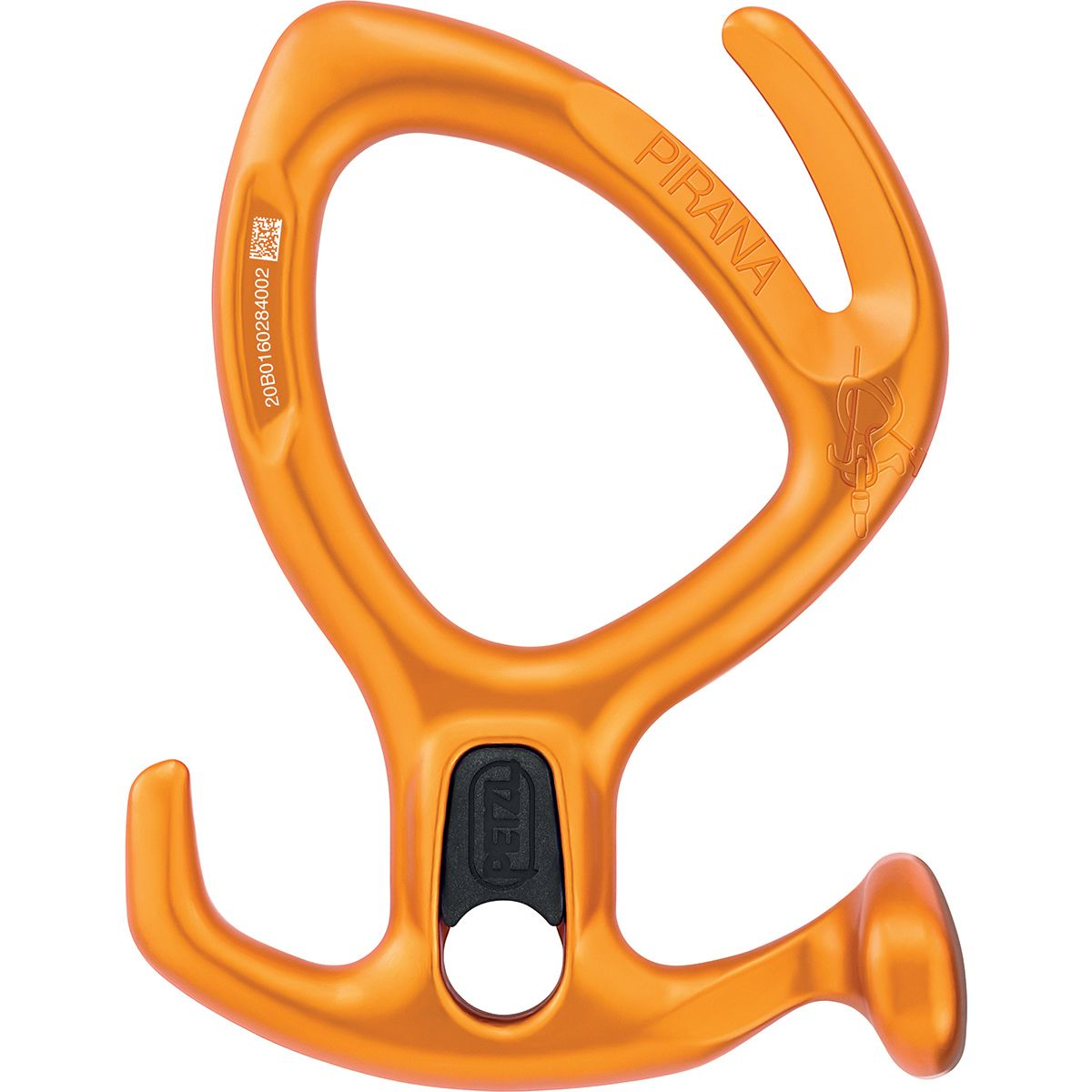 photo: Petzl Pirana belay/rappel device