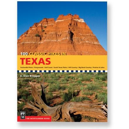 photo: The Mountaineers Books 100 Classic Hikes in Texas us south guidebook