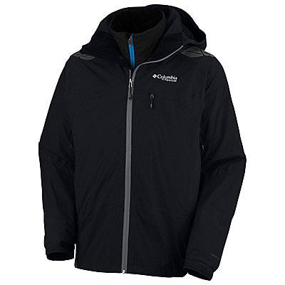 photo: Columbia Women's Melting Point Parka component (3-in-1) jacket