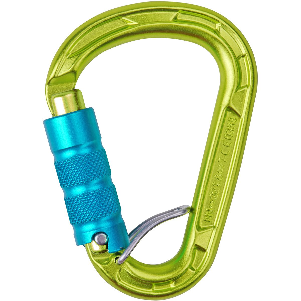 photo: Edelrid HMS Strike FG locking carabiner
