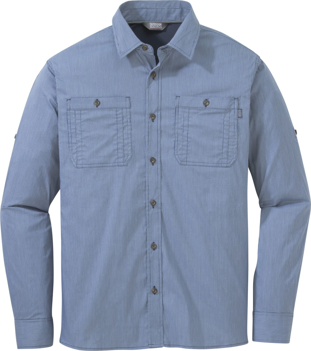 photo: Outdoor Research Onward L/S Shirt hiking shirt