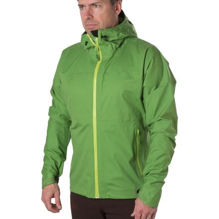 photo: Stoic eVent Stash Shell waterproof jacket