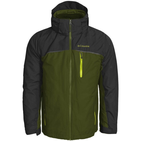 photo: Columbia Split Immersion Jacket component (3-in-1) jacket