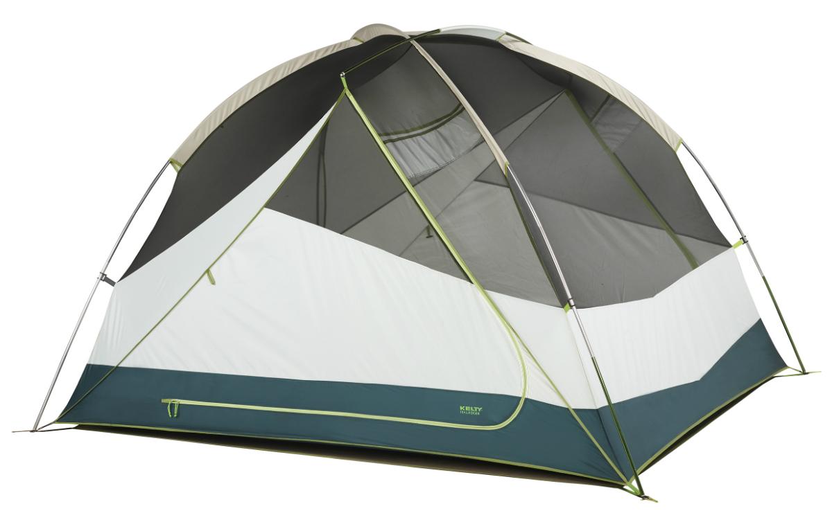 photo: Kelty Trail Ridge 4 three-season tent