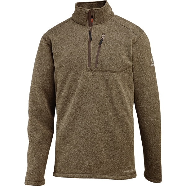 photo: Merrell Cedarbrook Half-Zip Fleece fleece top