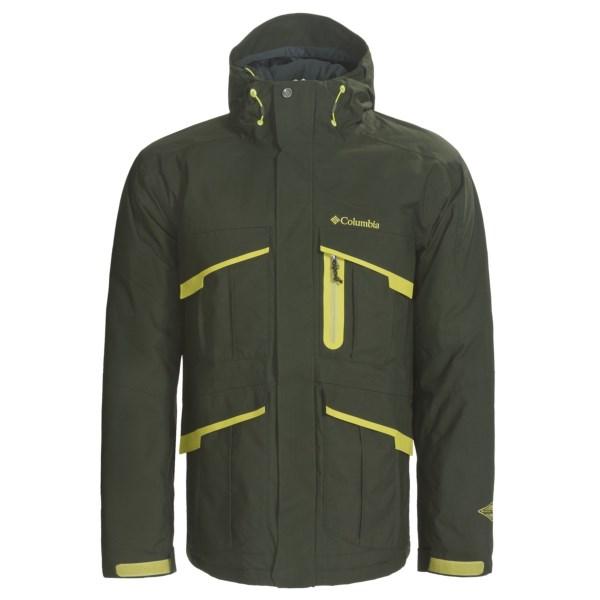 photo: Columbia Echochrome Jacket snowsport jacket