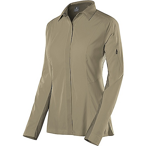 photo: Sierra Designs Women's Long Sleeve Solar Wind Shirt hiking shirt