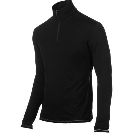 photo: Icebreaker Bodyfit 150 Long Sleeve Half Zip base layer top