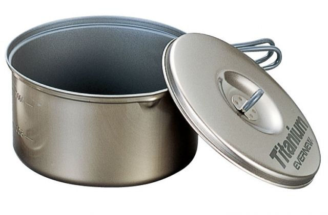 photo: Evernew Ti Non-Stick Pot .6L pot/pan