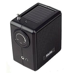 Kaito SB-1059 Mini Hand Crank AM/FM Weather Radio