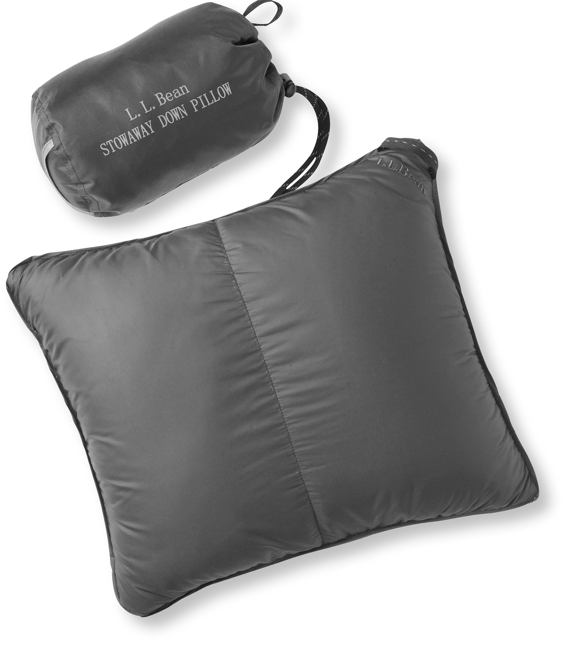 L.L.Bean Stowaway Down Pillow with DownTek