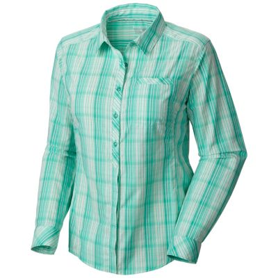 photo: Mountain Hardwear Terralake Tech Long Sleeve Shirt hiking shirt
