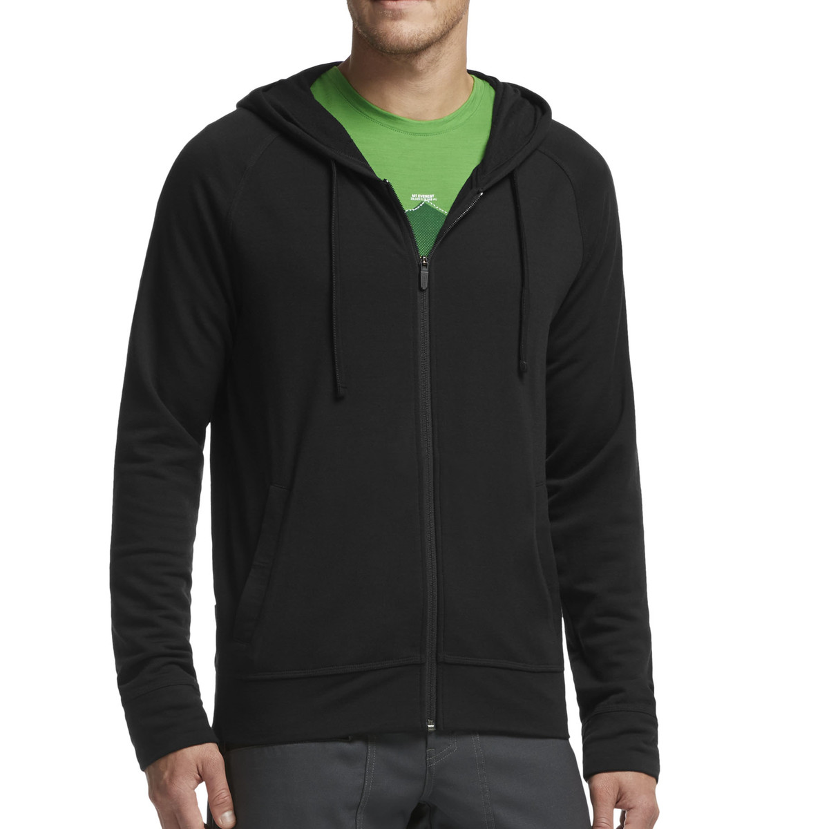 Icebreaker Rover Long Sleeve Zip Hood