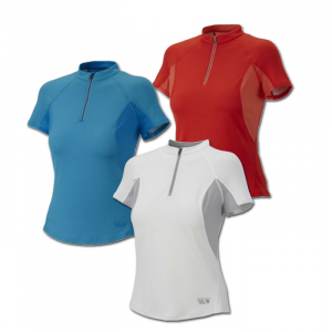 photo: Mountain Hardwear Aliso Short-Sleeve Zip T short sleeve performance top