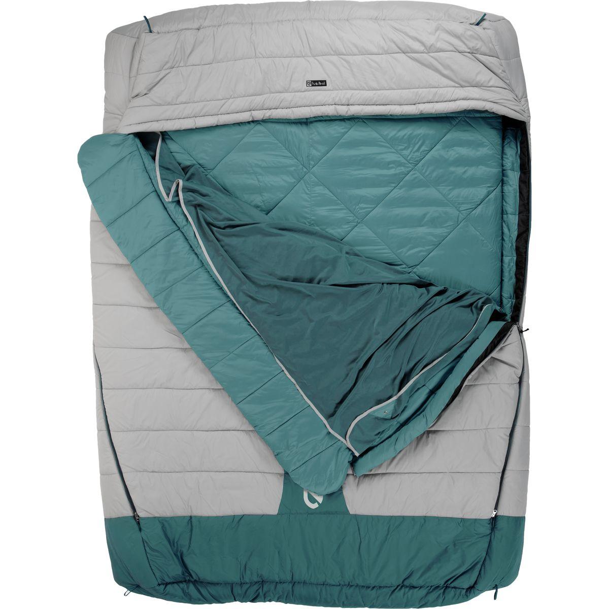 photo: NEMO Jazz Double 3-season synthetic sleeping bag