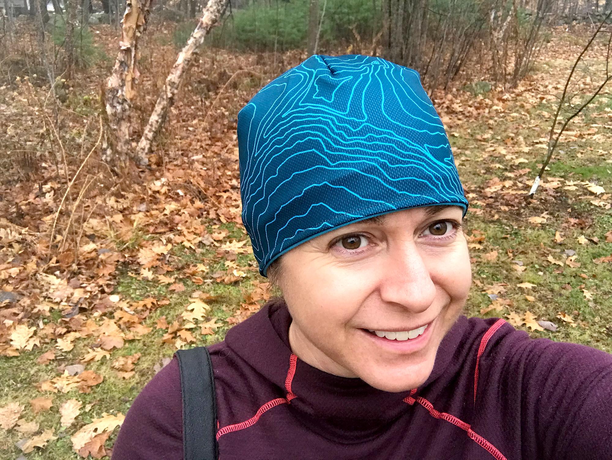 photo: NativesOutdoors White Shell Mountain Beanie winter hat