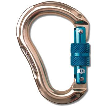 photo: Omega Pacific Jake Jr. Screw-Lok locking carabiner