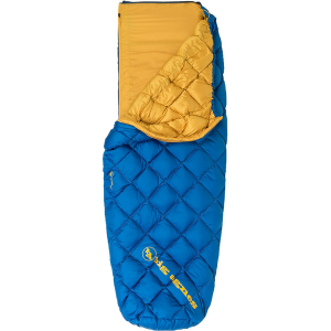 photo: Big Agnes Yampa 45° warm weather down sleeping bag