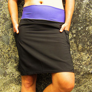 photo: Purple Rain Adventure Skirt hiking skirt