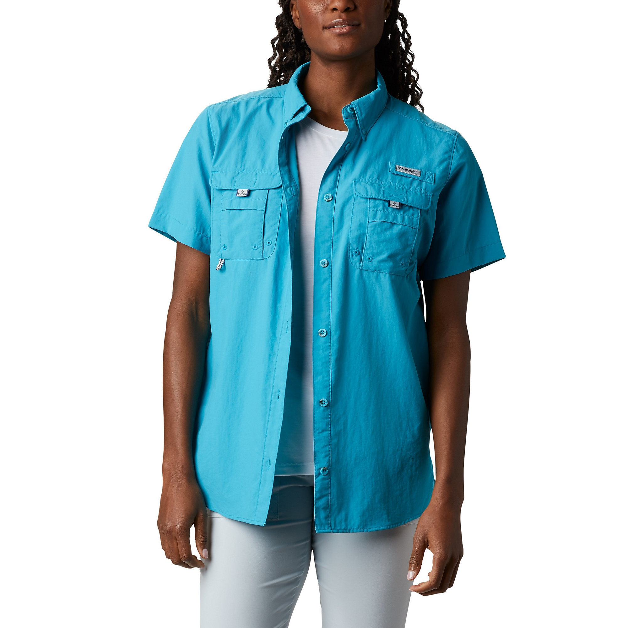 photo: Columbia Bahama Short Sleeve hiking shirt