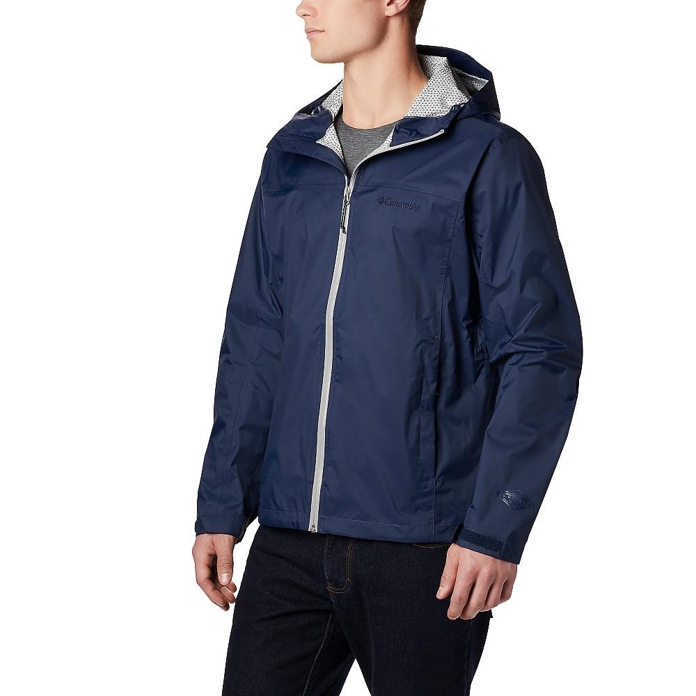 photo: Columbia EvaPOURation Jacket waterproof jacket
