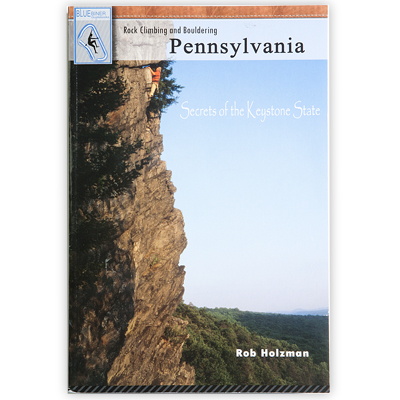 photo: Stackpole Books Rock Climbing and Bouldering Pennsylvania climbing book