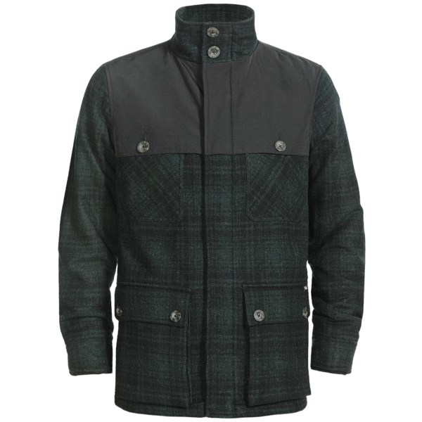 photo: Woolrich Avalanche Jacket wool jacket