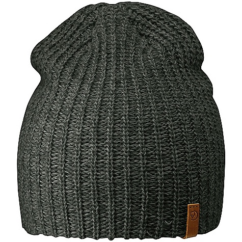 photo: Fjallraven Ovik Melange Beanie winter hat