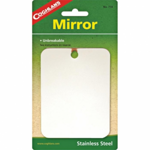 photo: Coghlan's Stainless Steel Mirror signal mirror/flag