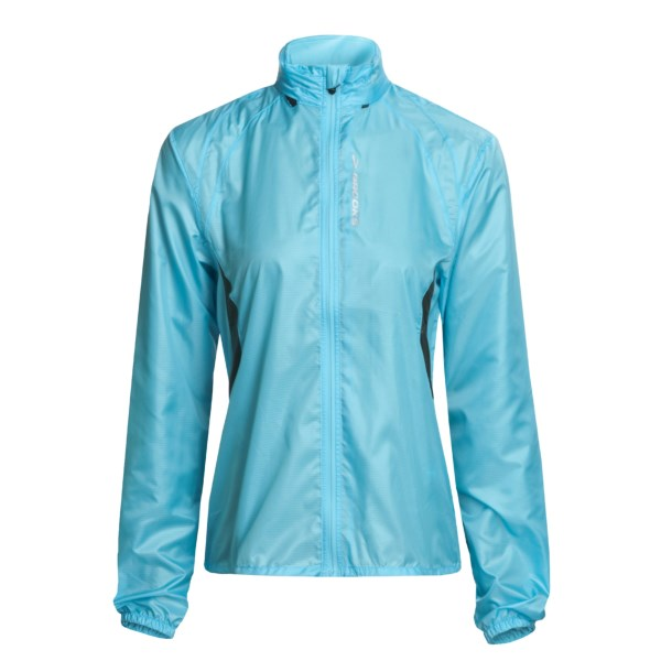 photo: Brooks Women's L.S.D. Lite Jacket II long sleeve performance top
