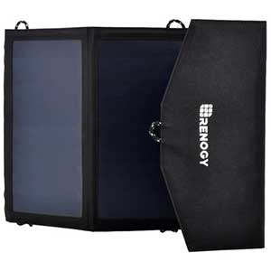 photo: Renogy 21 Watt Foldable PowerPort Solar Panel solar panel