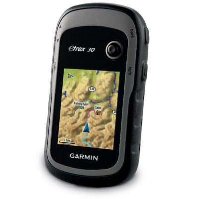 photo: Garmin eTrex 30 handheld gps receiver