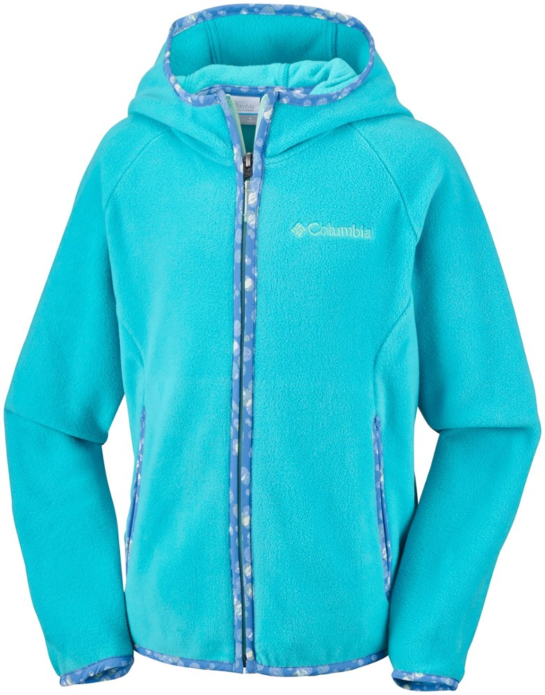 photo: Columbia Girls' Fast Trek Hoodie fleece jacket